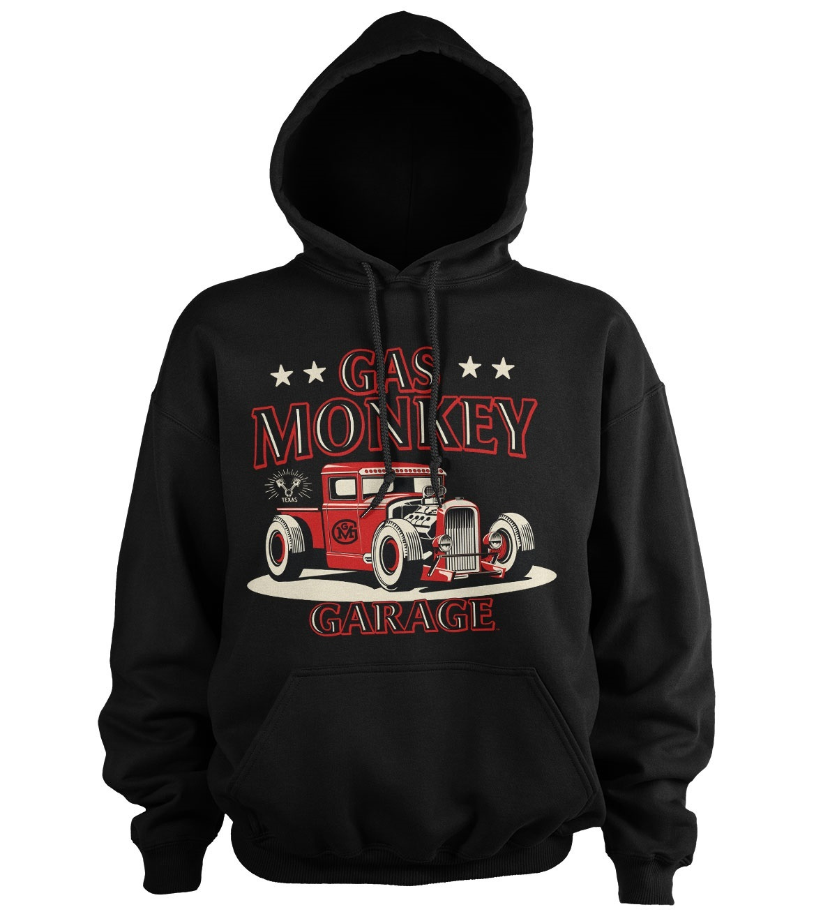 Mikina kapuca Gas Monkey Garage Texas Rod Hoodie