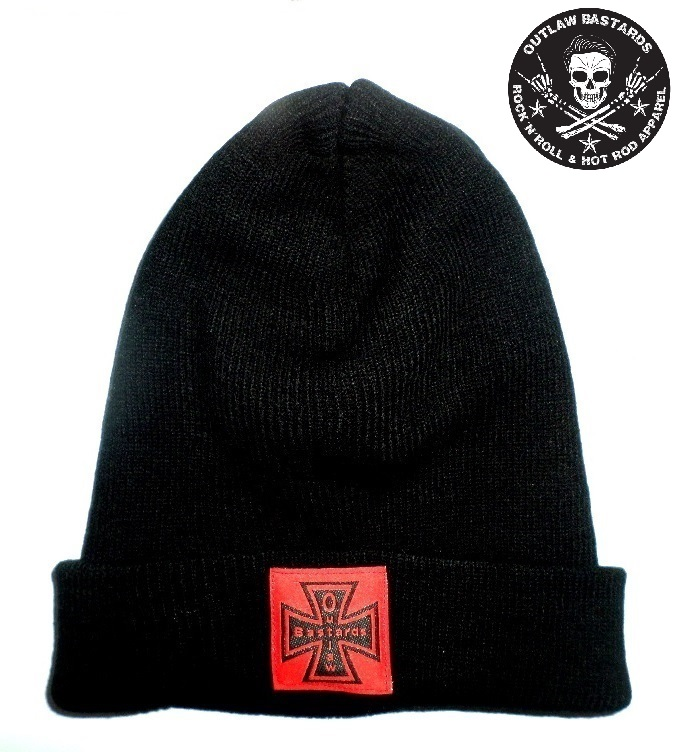 Kulich Outlaw Bastards Beanie Cross Black