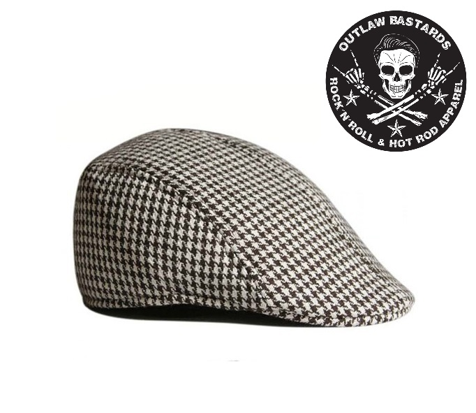Čepice Outlaw Bastards Flat Hat Cap Brown/ Wht