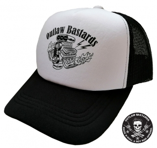 Kšiltovka Outlaw Bastards trucker Fullpower