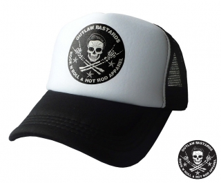 Truckerka Outlaw Bastards Skull