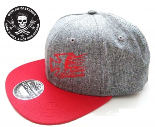 Kšiltovka Truckerka Outlaw Bastards Snapback Cross